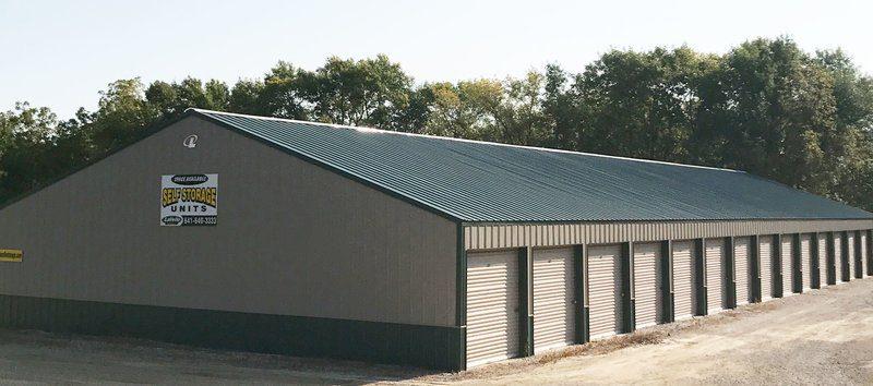 Exterior of Hampton North Storage Units
